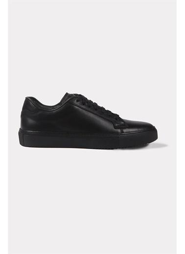 Krähe Varju Siyah Minimal Sneaker Siyah